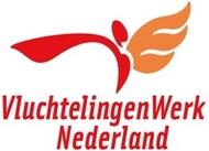 Logo van VluchtelingenWerk West en Midden Nederland