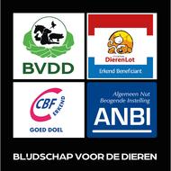 organisatie logo Blijdschap voor de dieren